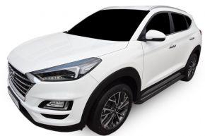 Boční nášlapy pro Hyundai Tucson 2015-up BLACK