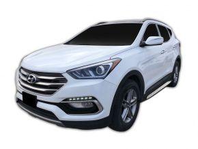 Boční nášlapy pro Hyundai Santa Fe 2018-up