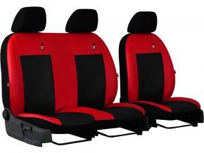 Autopotahy na míru Koža ROAD FIAT DOBLO IV 2+1 (2015→)