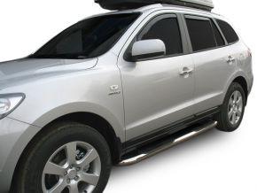Boční nerezové rámy pro Hyundai Santa Fe 2006-2012