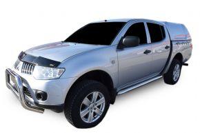 Boční nerezové rámy pro Mitsubishi L200 2007-2016 4D (76mm)