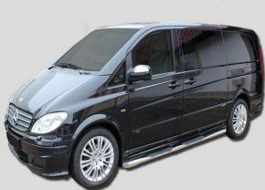 Boční nerezové rámy pro Mercedes Vito W639 SWB 2005-2013