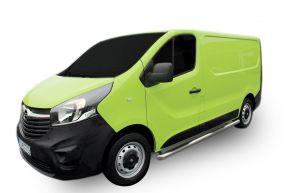 Boční nerezové rámy pro Opel Vivaro 2002-2011