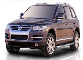 Boční nerezové rámy pro Volkswagen Touareg 2002-2010