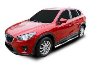 Boční nerezové rámy pro Mazda CX-5 2012-2016