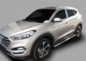 Boční nerezové rámy pro Hyundai Tucson 2015-up