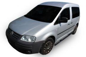 Boční nerezové rámy pro Volkswagen Caddy 2003-2015, 60,3 mm BLACK