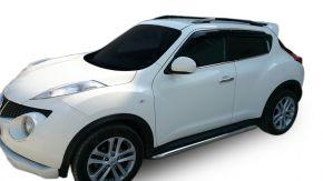 Boční nerezové rámy pro Nissan Juke 2010-2014 / 2014-2019 60,3 mm