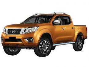 Boční nerezové rámy pro Nissan Navara NP300 2016-up