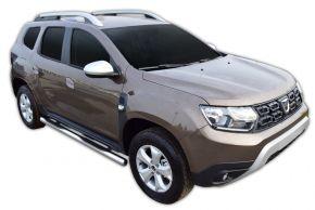 Boční nerezové rámy pro Dacia Duster 2 2018-up