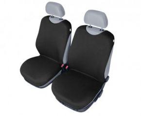 Autotrika SHIRT COTTON na přední sedačky černé Dacia Solenza
