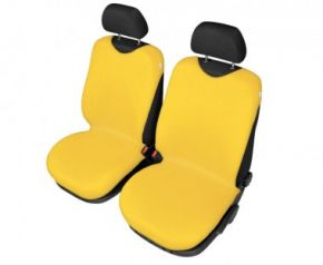 Autotrika SHIRT COTTON na přední sedačky žluté Dacia Solenza