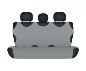 Autotriko COTTON na zadní nedělenou sedačku popelavé Fiat Doblo do 2015