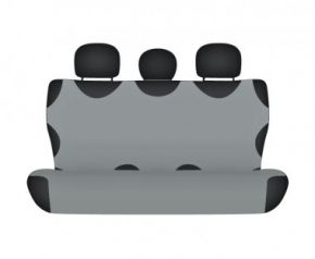Autotriko COTTON na zadní nedělenou sedačku popelavé Citroen C2