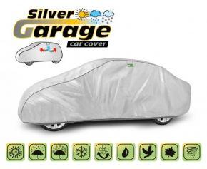 STÍNÍCÍ A PROTIDEŠŤOVÁ PLACHTA SILVER GARAGE sedan Jaguar X-Type d. 425-470 cm