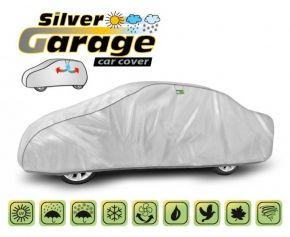 STÍNÍCÍ A PROTIDEŠŤOVÁ PLACHTA SILVER GARAGE sedan Jaguar XF d. 472-500 cm