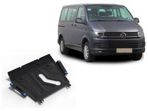 Ocelový kryt motoru a převodovky Volkswagen  T5 (Caravelle; Multivan; Transporter) pasuje na všechny motory 2003-2010, 2010-2015, 2015-