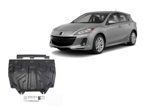 Ocelový kryt motoru a převodovky Mazda 3 1,5; 1,6; 2,0 2013-