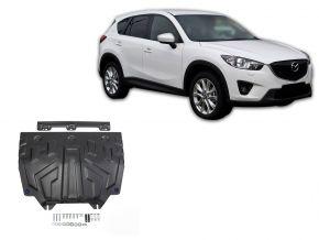 Ocelový kryt motoru a převodovky Mazda CX-5 2,0; 2,5; 2,2D 2011-2017