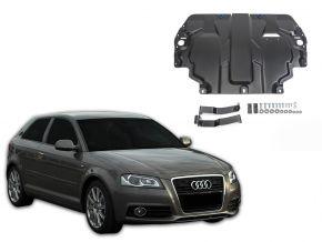 Ocelový kryt motoru a převodovky Audi A3 8P pasuje na všechny motory 2003-2012