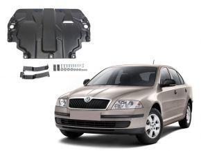 Ocelový kryt motoru a převodovky Skoda  Octavia А5 pasuje na všechny motory 2008-2013