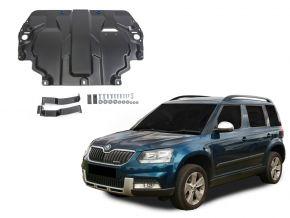 Ocelový kryt motoru a převodovky Skoda  Yeti pasuje na všechny motory 2009-2017