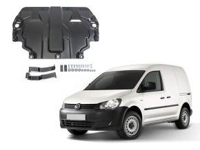 Ocelový kryt motoru a převodovky Volkswagen  Caddy IV pasuje na všechny motory (w/o heating system) 2015-