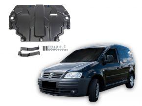 Ocelový kryt motoru a převodovky Volkswagen  Caddy III pasuje na všechny motory (w/o heating system) 2006-2015