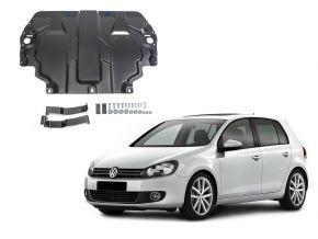 Ocelový kryt motoru a převodovky Volkswagen  Golf VI pasuje na všechny motory 2009-2013