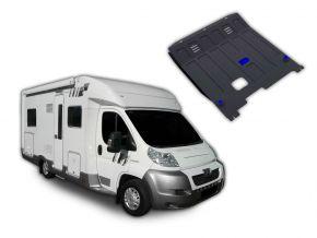 Ocelový kryt motoru a převodovky Peugeot  Boxer Caravan pasuje na všechny motory 2006-2014