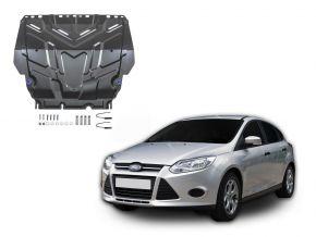 Ocelový kryt motoru a převodovky Ford  Focus III pasuje na všechny motory 2011-2018