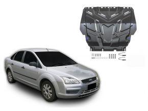 Ocelový kryt motoru a převodovky Ford  Focus II pasuje na všechny motory 2005-2011