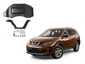 Ocelový kryt diferenciálu pro Nissan X-Trail 4WD 2,0; 4WD 2,5 (pouze pro uvedenou motorizace!), 2015-