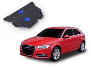 Ocelový kryt motoru a převodovky Audi A3 FWD/4WD 1,2TSI; FWD/4WD 1,4TFSI; FWD/4WD 1,8TFSI; FWD/4WD 1,8TSI 2012-