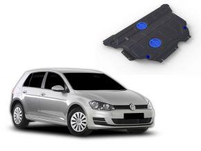 Ocelový kryt motoru a převodovky Volkswagen Golf VII 1,2TFSI; 1,4TFSI (122hp) 2013-