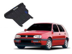 Ocelový kryt motoru a převodovky Volkswagen Golf III  MT 1,4; 1,6; 1,8; 2,0; 1,9TD 1991-1997
