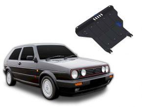 Ocelový kryt motoru a převodovky Volkswagen Golf II MT pasuje na všechny motory 1986-1992