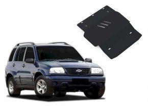 Ocelový kryt motoru a převodovky Chevrolet Tracker pasuje na všechny motory 1998-2004