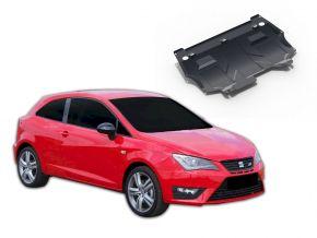 Ocelový kryt motoru a převodovky Seat Ibiza pasuje na všechny motory 2008-2014