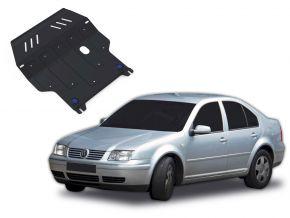 Ocelový kryt motoru a převodovky Volkswagen Bora pasuje na všechny motory 1998-2005