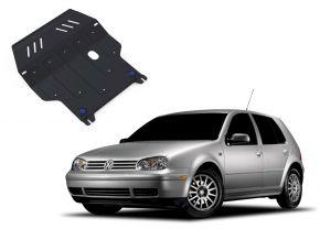Ocelový kryt motoru a převodovky Volkswagen Golf IV pasuje na všechny motory 1998-2005