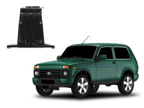 Ocelový kryt motoru a převodovky Lada 4x4 / Niva / Taiga / Urban pasuje na všechny motory 2001-2015; 2015-