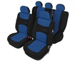 Autopotahy Sport line modre - sada Dacia Solenza Univerzální potahy