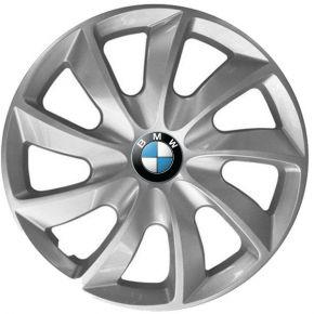 """Poklice pro BMW 14"""", STIG ŠEDÉ LAKOVANÉ 4ks"""