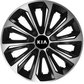 "Poklice pro KIA 15"", STRONG DUOCOLOR 4ks"