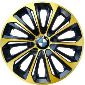 "Poklice pro BMW 14"", STRONG EXTRA zlaté 4ks"
