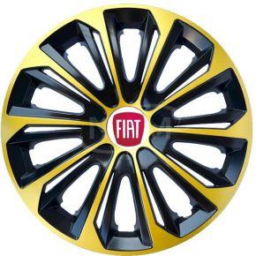 """Poklice pro FIAT 14"""", STRONG EXTRA zlaté 4ks"""