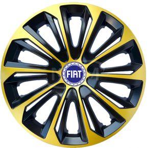"""Poklice pro FIAT 15"""", STRONG EXTRA zlaté 4ks"""