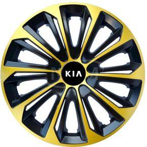 "Poklice pro KIA 15"", STRONG EXTRA zlaté 4ks"
