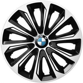"""Poklice pro BMW 15"""", STRONG DUOCOLOR ČERNO-BÍLÉ 4ks"""